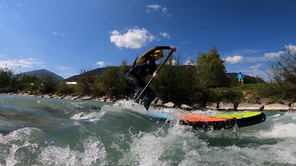 Wildwasser SUP auf der Loisach Beitragsbild
