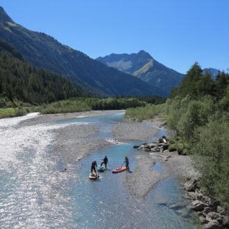 Go with the Flow: Der Lech von Steeg bis Weißenbach.